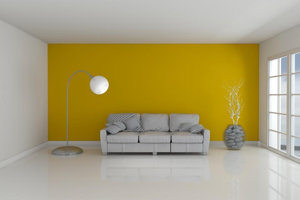 Empty Room and sofa